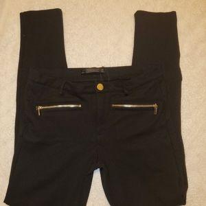 Zara Trafaluc Black skinny pants
